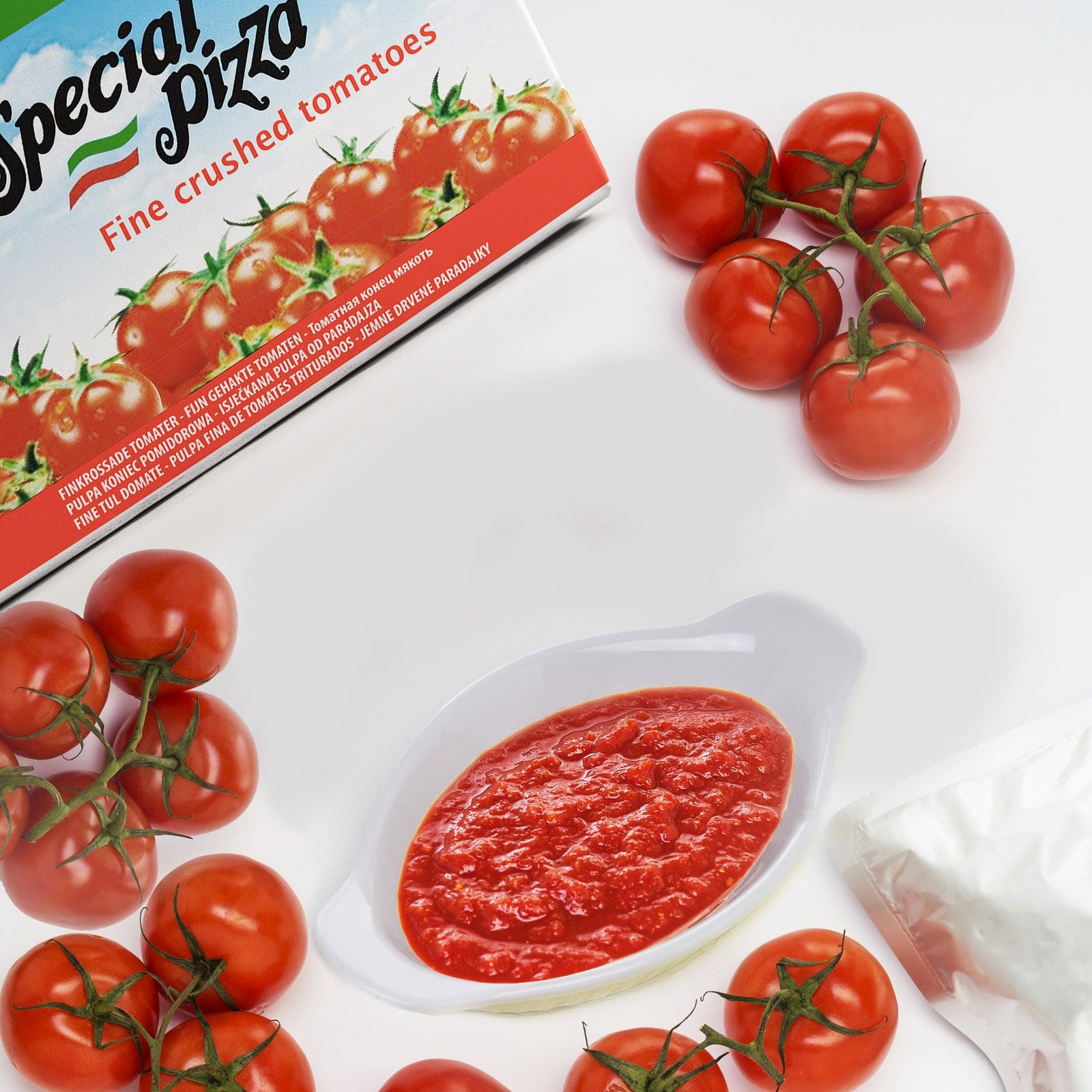 Crushed tomatoes Fine Pulp